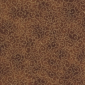 Luxury Blenders Cotton Fabric - Brown