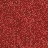 Luxury Blenders Cotton Fabric - Red