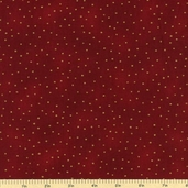Luxury Blenders Cotton Metallic Fabric - Burgundy LBLE-381-D