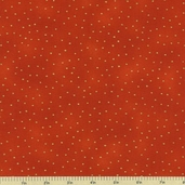 Luxury Blenders Cotton Metallic Fabric - Orange LBLE-381-O