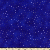 Luxury Blenders Cotton Metallic Fabric - Purple LBLE-381-BV