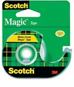 Magic Tape Matte Finish 1/2in x 450in