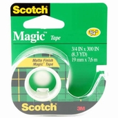 Magic Tape Matte Finish 3/4 in x 300 in