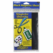 Magnetic Sheet Black - 3 Pkgs