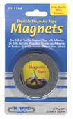 Magnetic Tape Flexible Adhesive Strip 1/2 inch x 30 inch - 3 rolls