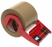 Mailing Tape w/Dispenser 1.88 in x 800 in - Tan