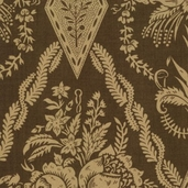 Maison De Garance Cotton Fabric - Old Brown