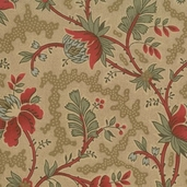 Maison De Garance Cotton Fabric - Tea