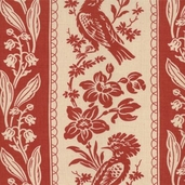 Maison De Garance Cotton Fabric - Turkey Red - CLEARANCE