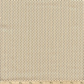 Mangia Mangia! Dots Cotton Fabric - Beige