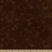 Marbled Cotton Fabric Flannel - Brown 44-A-6