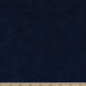 Moda Marbled Flannel Cotton Fabric - Navy