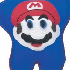 Mario Brothers Tooth Fairy Pillow
