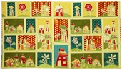Marmalade Cottage Sampler Cotton Fabric - Multi Q1015-76333-543W