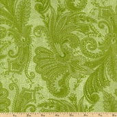 Marrakesh 108 Wide Backing Cotton Fabric - Green 1009-4726-700W