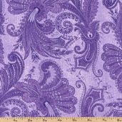 Marrakesh 108 Wide Backing Cotton Fabric - Purple 1009-4726-660W