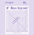 8 inch Bias Square by Martingale and Company Ruler