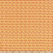 Martini Party Fizz Cotton Fabric - Red