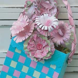 May Day Basket and Flowers