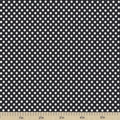 McCall's Polka Dot Cotton Fabric - Black