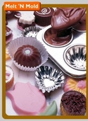 Melt 'N Mold Molding and Melting Chocolates: Guittard Dark Chocolates 12oz.