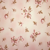 Memories of Love Cotton Fabric - Pink