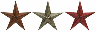 http://ep.yimg.com/ay/yhst-132146841436290/metal-star-wall-decor-12in-set-of-3-red-rustic-antique-brown-4.jpg