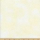 Metallic Pin Dots Cotton Fabric - Cream