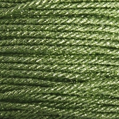 Metallic Twist Cord 2mm 5 yds - Green - Clearance