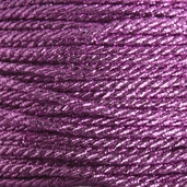 Metallic Twist Cord 2mm 5 yds - Pink - Clearance