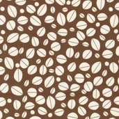 Metro Cafe Cotton Fabric - Espresso