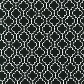 Metro Living Cotton Fabric - Black