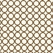 Metro Living Cotton Fabric - Brown