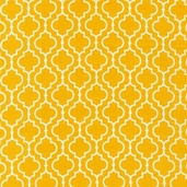 Metro Living Cotton Fabric - MariGold Yellow