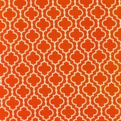 Metro Living Cotton Fabric - Orange