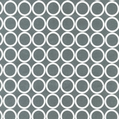 Metro Living Cotton Fabric - Pewter