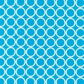 Metro Living Cotton Fabric - Turquoise