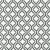 Metro Living Cotton Fabric - White