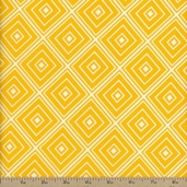 Metro Living Diamond Cotton Fabric - Marigold
