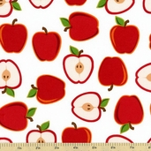 Metro Market Cotton Fabric - Apple AYS-13055-117