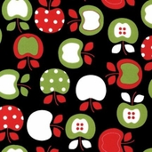 Metro Market Cotton Fabric - Black