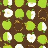 Metro Market Cotton Fabric - Brown