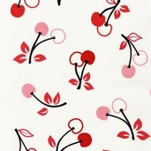 Metro Market Cotton Fabric - Cherry
