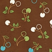 Metro Market Cotton Fabric - Cocoa