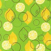Metro Market Cotton Fabric - Green
