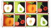 Metro Market Cotton Fabric - Harvest Panel AYS-13056-196