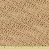 Mill Girls Cotton Fabric - Cream 4152-0111