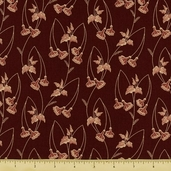 Mill Girls Cotton Fabric - Red 4151-0111