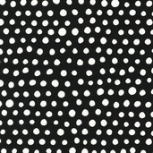 Mingle Cotton Fabric - Licorice Dots - CLEARANCE