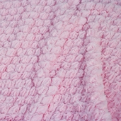 Minky Soft Tile Cuddle Fabric - Baby Pink